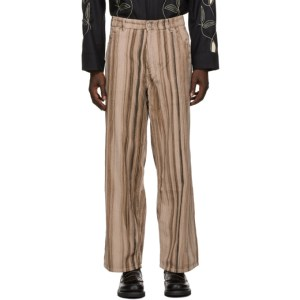 Our Legacy Pink Corduroy Vast Cut Trousers