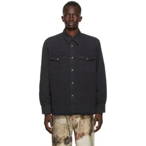 Our Legacy Black Denim New Frontier Shirt