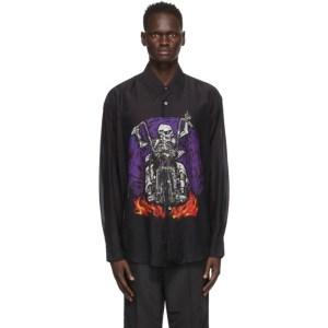 Our Legacy Black Silk Coco Shirt
