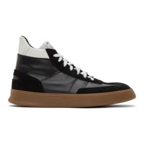 Spalwart Black Smash High Sneakers