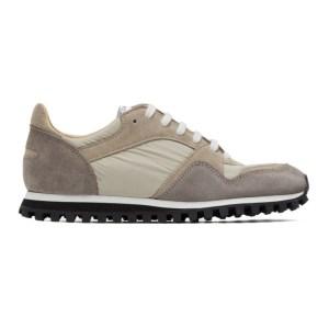 Spalwart Beige and Grey Marathon Trail Low Sneakers