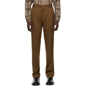 Han Kjobenhavn Brown Single Suit Trousers