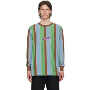 Han Kjobenhavn Multicolor Stripe Boxy Long Sleeve T-Shirt