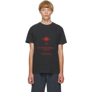 Han Kjobenhavn Black Artwork T-Shirt