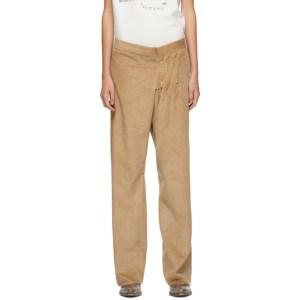 Bless Tan SMLXL Long Corduroy Trousers
