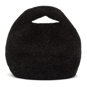 Lauren Manoogian Black Felt Bowl Bag