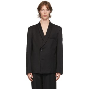 Enfants Riches Deprimes Black Wool Shawl Collar Blazer
