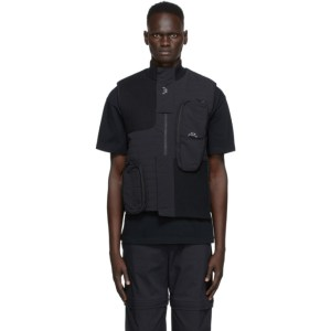 A-COLD-WALL* Black Nylon Puffer Vest