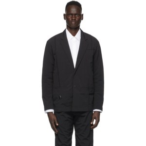 A-COLD-WALL* Black Rhombus Badge Blazer