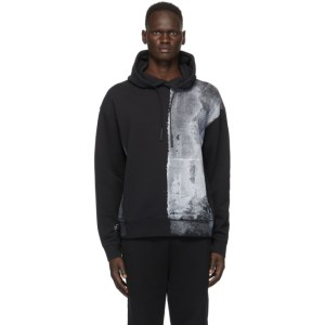 A-COLD-WALL* Black Painted Hoodie