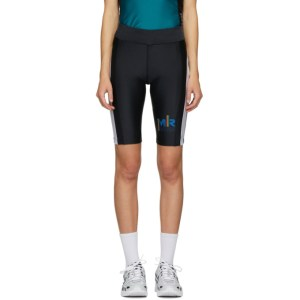Martine Rose SSENSE Exclusive Black and Green Cycling Shorts