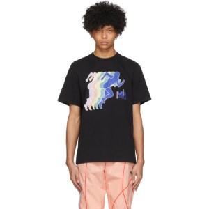 Martine Rose SSENSE Exclusive Black Peace Print T-Shirt
