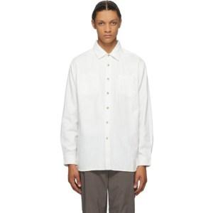 Saturdays NYC White Denim Kenmare Shirt