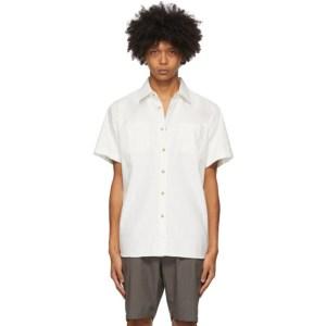 Saturdays NYC White Centre Shirt