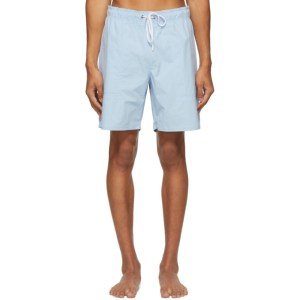 Saturdays NYC Blue Richie Swim Shorts