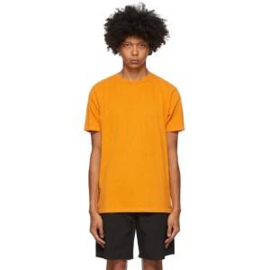 Saturdays NYC Orange Pima Brandon T-Shirt