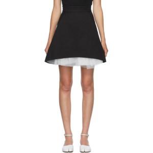 Shushu/Tong SSENSE Exclusive Black A-Line Skirt