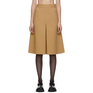 Shushu/Tong Tan Single Pleat Skirt