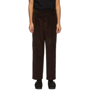 Second/Layer Burgundy Corduroy Velluto Trousers