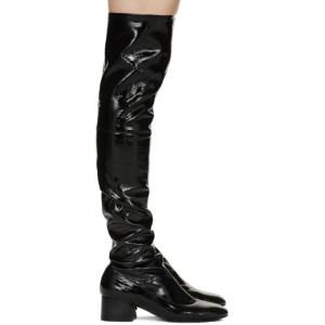 Khaite Black The Sedona Tall Boots