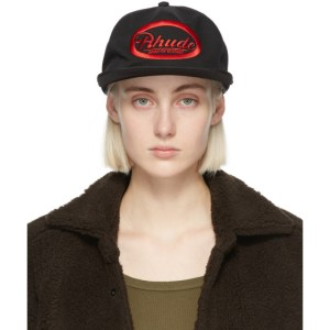 Rhude Black Draft Cap