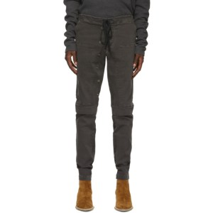 Greg Lauren Black Work Trousers