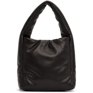 Joseph Black Small Slouch Padded Top Handle Bag