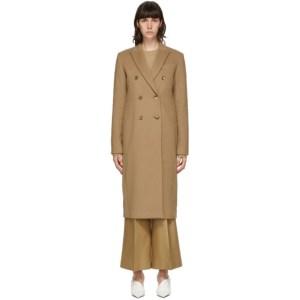 Joseph Tan Cam Wool Coat