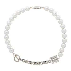 MISBHV White Lilith Edition Pearl Choker Necklace