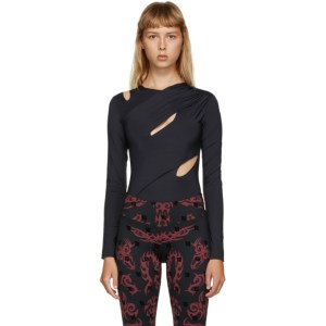 MISBHV Black Hagen Bodysuit