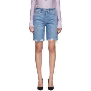 Grlfrnd Blue Denim Marjan Shorts