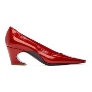 Kiko Kostadinov Red Koffka Patent Heels