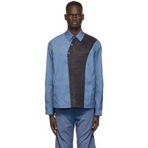 Kiko Kostadinov Blue Bindra Shirt