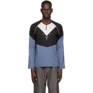 Kiko Kostadinov Blue Kenneth Jersey Long Sleeve T-Shirt