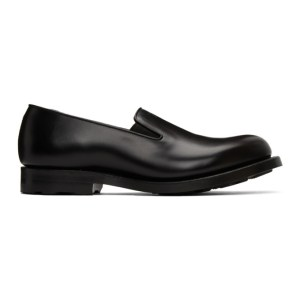 N.Hoolywood Black Leather Loafers