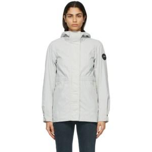 Canada Goose Grey Black Label Davie Coat