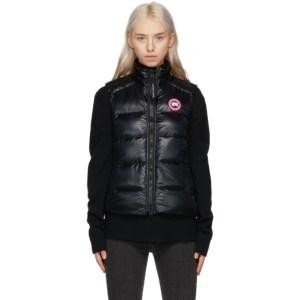 Canada Goose Black Packable Down Cypress Vest