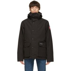 Canada Goose Black Lockeport Coat