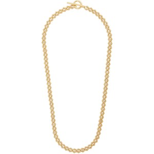 All Blues Gold Polished DNA Necklace