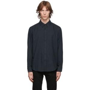 rag and bone Navy Fit 2 Thomlin Shirt