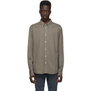 rag and bone Brown Fit 2 Thomlin Shirt