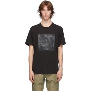 rag and bone Black Camo Logo T-Shirt