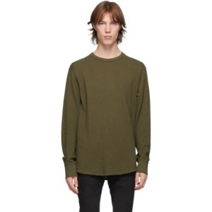 rag and bone Khaki Baron Long Sleeve T-Shirt