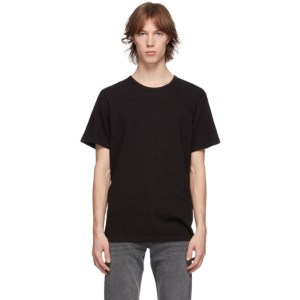 rag and bone Black Classic Flame T-Shirt