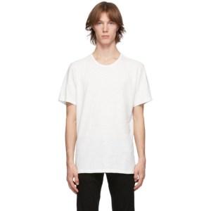rag and bone White Classic Flame T-Shirt
