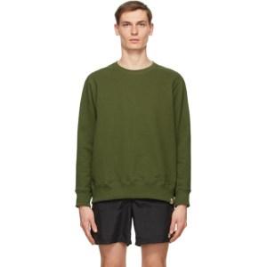 Bather Green Crewneck Sweatshirt