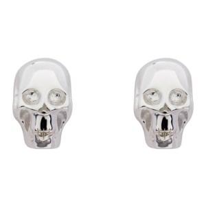 Stolen Girlfriends Club Silver Baby Skull Earrings