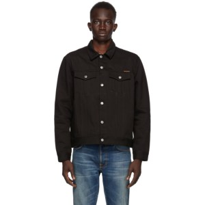 Nudie Jeans Black Denim Jerry Jacket