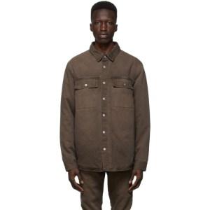 Ksubi Brown Anti Shirt