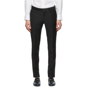 Tiger of Sweden Black Terriss Tuxedo Trousers